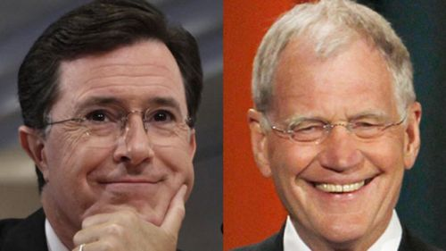 colbert letterman 660 reuters